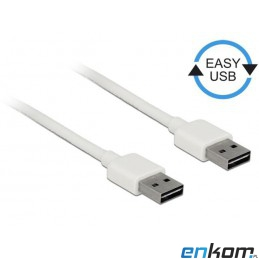 Kabel USB 2.0 Delock A(M) -...