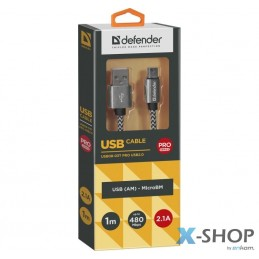 Kabel USB Defender AM-micro...