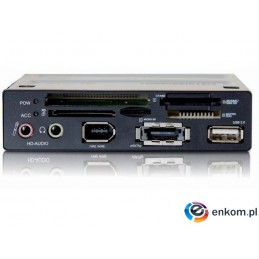 Frontpanel Delock MULTI USB/AUDIO/ESATA/FIREWIRE/CZYT. 43IN1