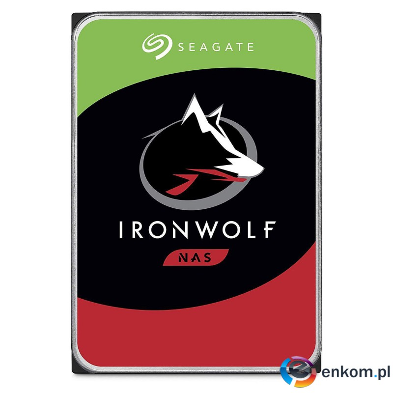 Dysk SEAGATE IronWolf™ 8TB ST8000VN004 7200 256MB SATA III NAS