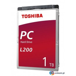 "Dysk Toshiba L200 Mobile 1TB 2,5"" SATA 5400rpm 128MB Slim 7mm BULK"