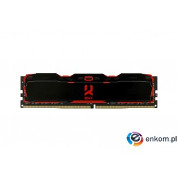 Pamięć DDR4 GOODRAM IRDM X 8GB 3000MHz 16-18-18 Black