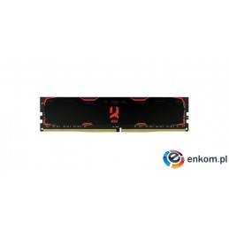 Pamięć DDR4 GOODRAM IRDM 16GB 2400MHz CL17-17-17 1024x8 Black