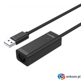 UNITEK ADAPTER USB ETHERNET 10/100MBPS, Y-1468