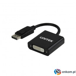UNITEK ADAPTER DISPLAYPORT TO DVI F/F, Y-5118AA