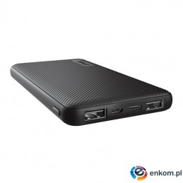 Powerbank Trust Primo POWERBANK 10000mAh Black
