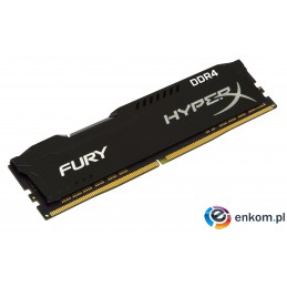 KINGSTON HyperX FURY DDR4 16GB 2400MHz Black