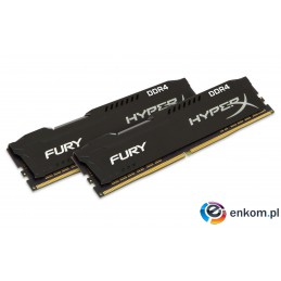 KINGSTON HyperX FURY DDR4 2x16GB 2400MHz Black