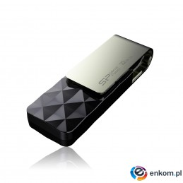 Pendrive Silicon Power Blaze B30 32GB USB 3.1 TSOP Black