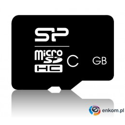 Silicon Power microSDHC 8GB CL10