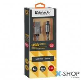 Kabel USB Defender AM-TYPE...