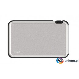 Powerbank Silicon Power GD27 5000mAh 2xUSB Typ A + 1xMicroUSB srebrny