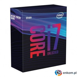 Procesor Intel® Core™ i7-9700KF Coffee Lake 3.6/4.9 GHz 12MB LGA1151 BOX