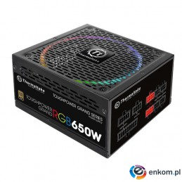 Zasilacz Thermaltake Toughpower Grand RGB 650W PS-TPG-0650FPCGEU-R (650 W  Aktywne  140 mm)