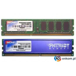PATRIOT DDR3 4GB SIGNATURE 1333MHz CL9
