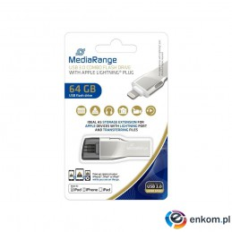 Pendrive MediaRange MR983 64GB USB 3.0 + Lightning