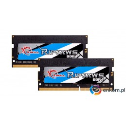 G.SKILL RIPJAWS SO-DIMM DDR4 2X16GB 3200MHZ CL22 1,20V F4-3200C22D-32GRS