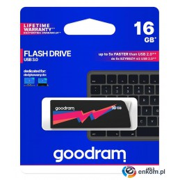 Pendrive GOODRAM UCL3 16GB USB 3.0 Black