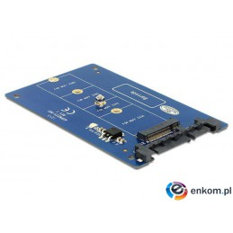 Adapter Delock SATA 22Pin - M.2 NGFF Key B 67Pin
