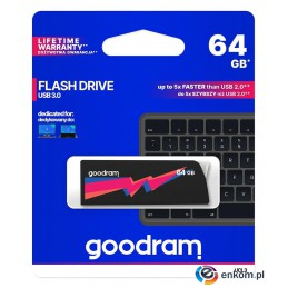 Pendrive GOODRAM UCL3 64GB USB 3.0 Black