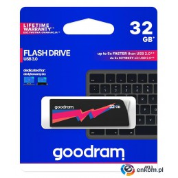 Pendrive GOODRAM UCL3 32GB USB 3.0 Black