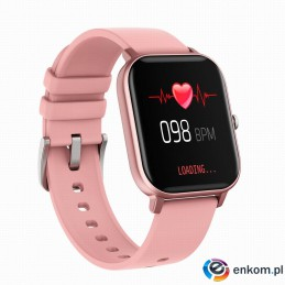 Smartwatch MaxCom fit FW35 Aurum różowy
