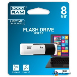 Pendrive GOODRAM COLOUR 8GB Retail 9 Black&White
