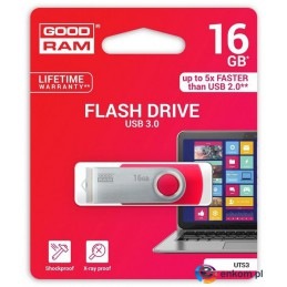 Pendrive GOODRAM Twister 16GB USB 3.0 Red