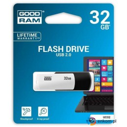 Pendrive GOODRAM COLOUR 32GB USB 2.0 Retail Black&White