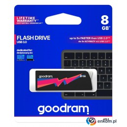 Pendrive GOODRAM UCL3 8GB USB 3.0 Black