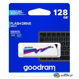 Pendrive GOODRAM UCL2 128GB USB 2.0 White