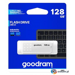 Pendrive GOODRAM UME2 128GB USB 2.0 White