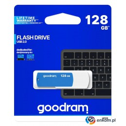 Pendrive GOODRAM UCO2 128GB USB 2.0 White-Blue