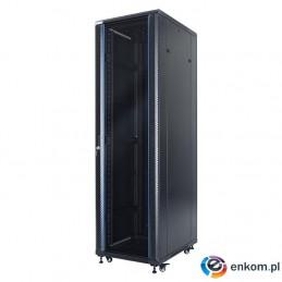 """Szafa stojąca START.LAN rack 19"""" 42U 600x600 (drzwi przednie szklane)"""
