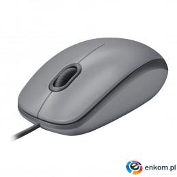 Mysz Logitech 910-005490 (optyczna  1000 DPI  kolor szary)