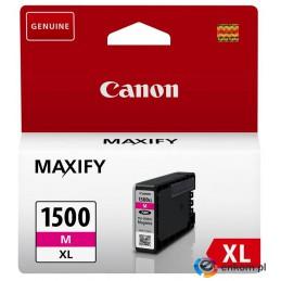Tusz Canon 9194B001 (oryginał PGI1500XLM PGI-1500XLM  12 ml  czerwony)