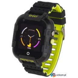 Smartwatch Garett Kids 4G SIM czarny