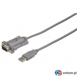 Kabel adapter Hama USB typ A - RS-232
