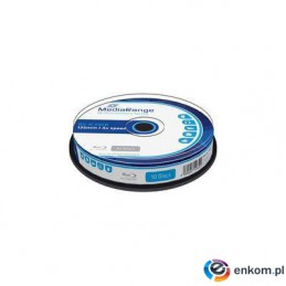 Płyta Blu-ray MediaRange MR495 25GB 4x speed (Cake 10)