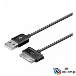 Kabel USB Techly do Samsung Galaxy Tab 1,2m, czarny