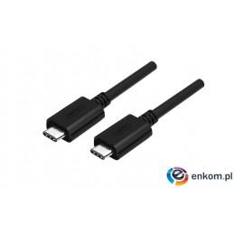 Kabel USB Unitek Y-C477BK USB Typ-C do USB Typ-C