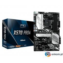Płyta główna Asrock X570 Pro4 90-MXBAT0-A0UAYZ (AM4  4x DDR4 DIMM  ATX  CrossFireX)
