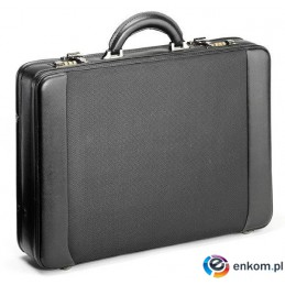 "Neseser z torbą na notebooka Falcon 15,6"" czarny"