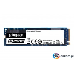 Dysk Kingston A2000 SA2000M8/500G (500 GB   M.2  PCI Express 3.0 x 4)