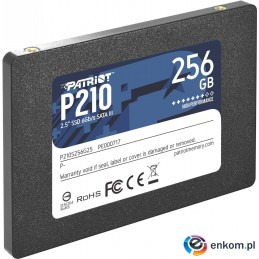 SSD Patriot P210 256GB SATA3 2.5