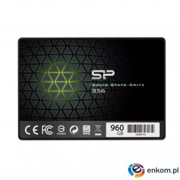 "Dysk SSD Silicon Power S56 SP120GBSS3S56B25 (120 GB   2.5""  SATA III)"