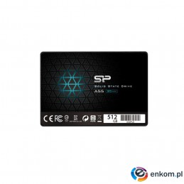 "Dysk SSD Silicon Power Ace A55 SP512GBSS3A55S25 (512 GB   2.5""  SATA III)"