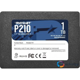 "Dysk SSD Patriot P210 1TB 2.5"" SATA3 (520/430 MB/s) 7mm"