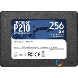 "Dysk SSD Patriot P210 256GB 2.5"" SATA3 (500/400 MB/s) 7mm"