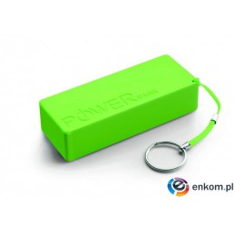 PowerBank EXTREME Quark XL XMP102G (5000mAh  microUSB  kolor zielony)